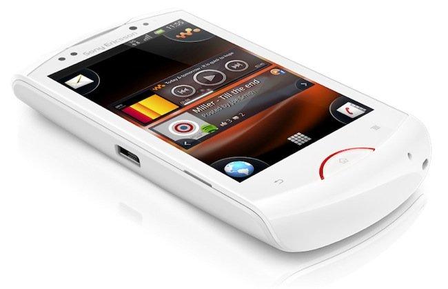 Sony Ericsson Live walkman para Android