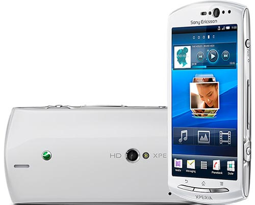 Sony Ericsson Xperia Neo V con Android Gingerbread 2.3.4.
