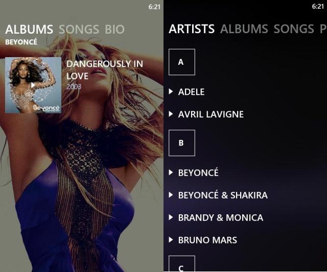 UberMusic, un reproductor de música para Android