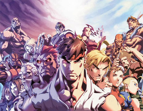Street Fighter IV para Android a traves de Smartphones de LG