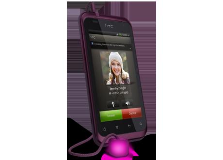 HTC Rhyme, Smartphone para mujeres