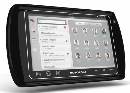 Motorola ET1 Enterprise, un Tablet para empresas
