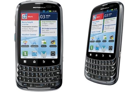 Nuevo Smartphone Motorola Admiral para Android