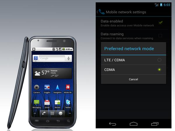 Como aumentar el rendimiento de la batería del Galaxy Nexus