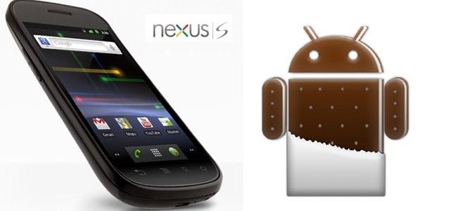 Google Nexus S, el primero en actualizarse a Android 4.0