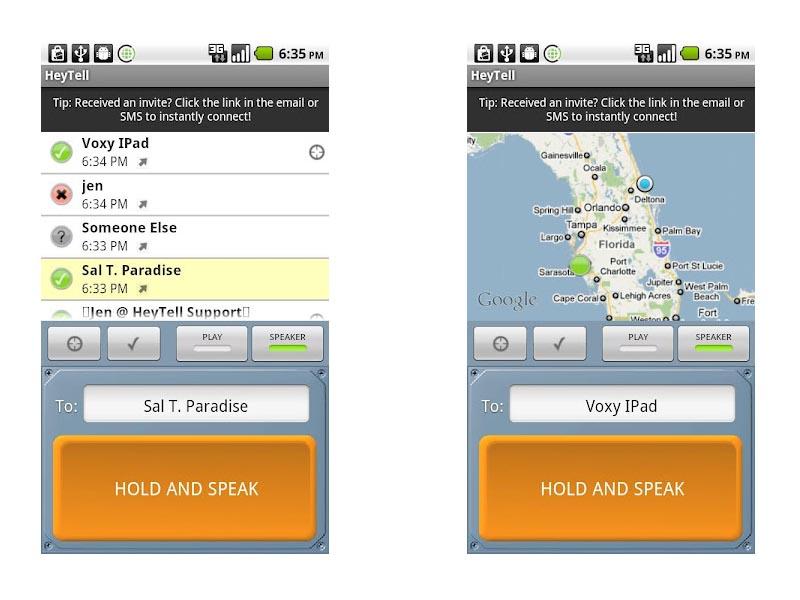 Como enviar un mensaje de voz en Android al instante