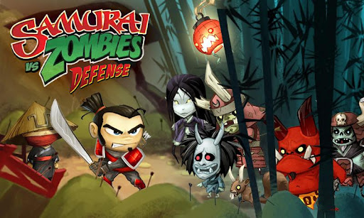Samurai vs Zombies Defense, juego RPG de estrategia para Android,