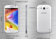 Samsung Galaxy Grand, pantalla de 5′ para un gama media